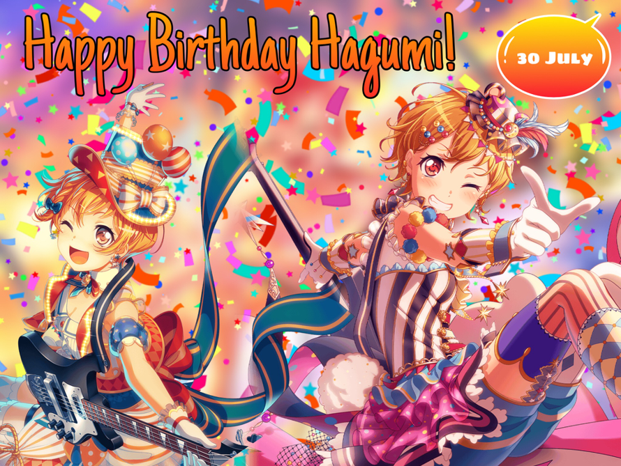 Happy Birthday Hagumi!!!!