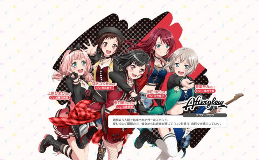 As much as I adore Afterglow's new outfits Himari looks so cute!! , the ugly yellow shirt around...