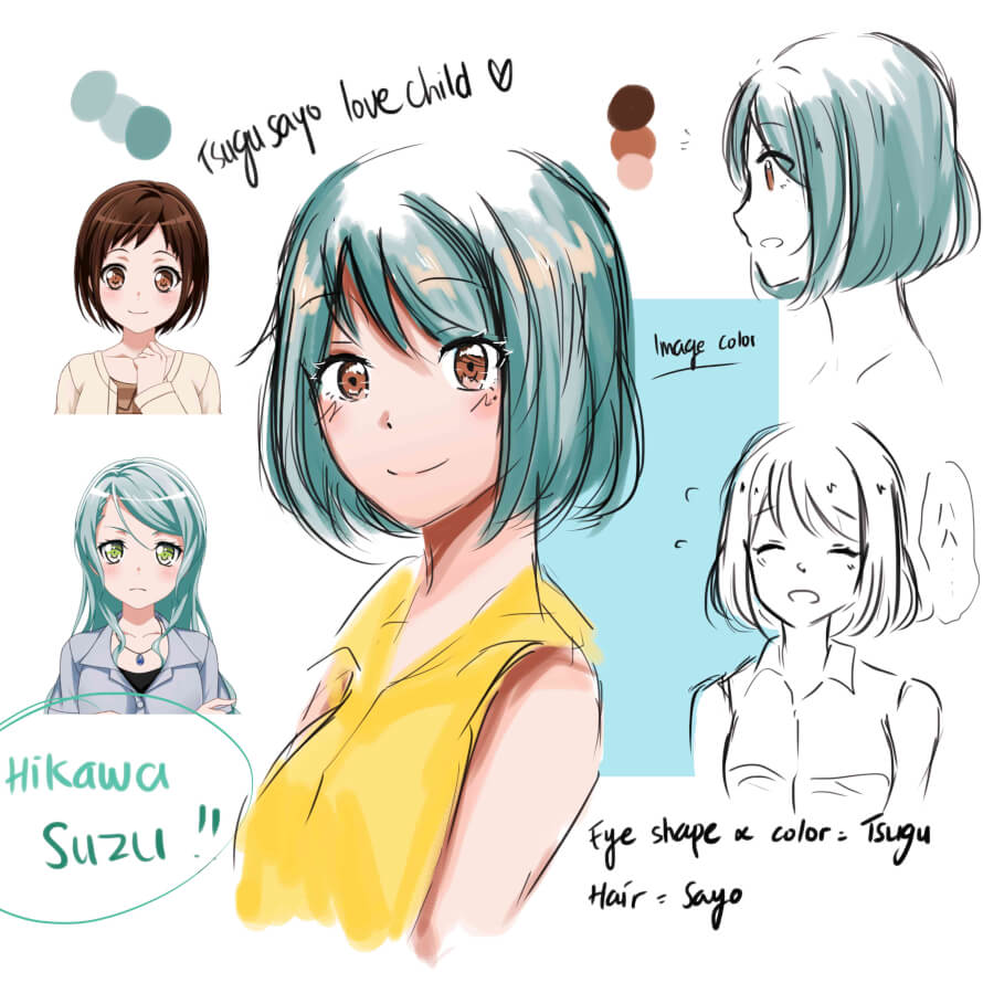 did this tsugusayo love child for a warm up doodle after a week of not drawing !!  for now, i don't...
