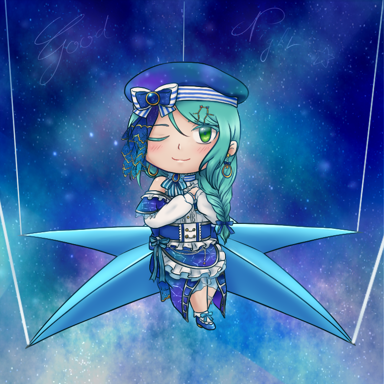 Having a bad time trying to fall asleep ? smol Star Sayo will bring you a night full of nice...