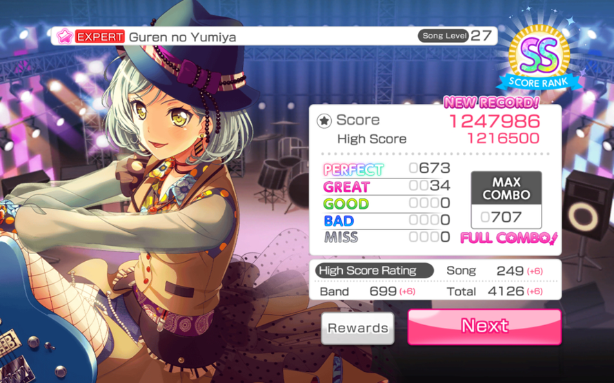 my first level 27 full combo!!! I'm proud of myself :