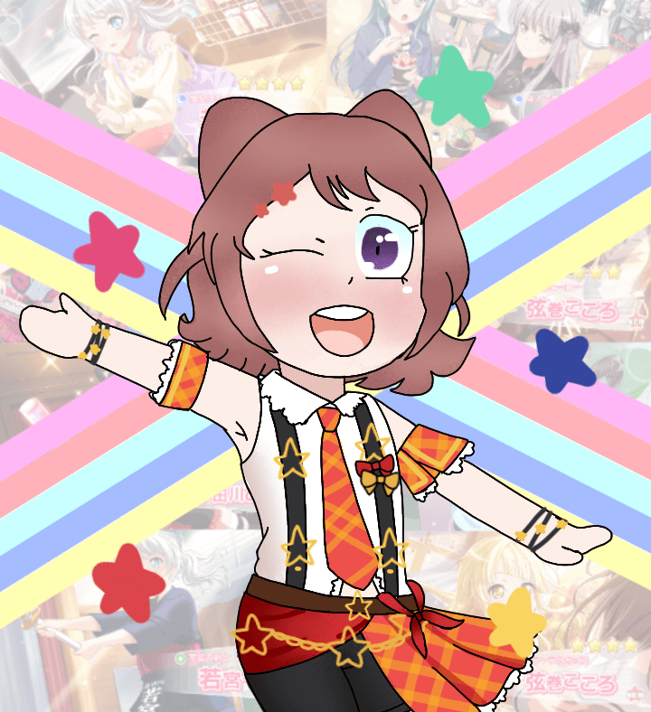 HAPPY 2ND ANNIVERSARY BANG DREAM! 
