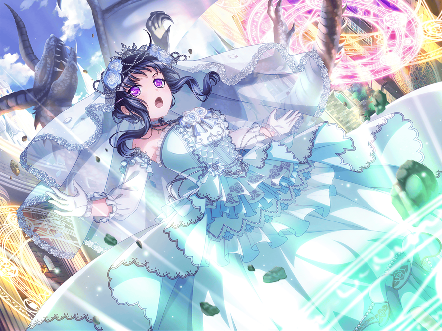I personally like Rinko's untrained card from the Neo Fantasy: Evolutionary Gacha a lot more...