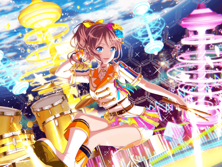 I don't participate in vs live events because I don't like vs lives but this Saaya...is absolutely...