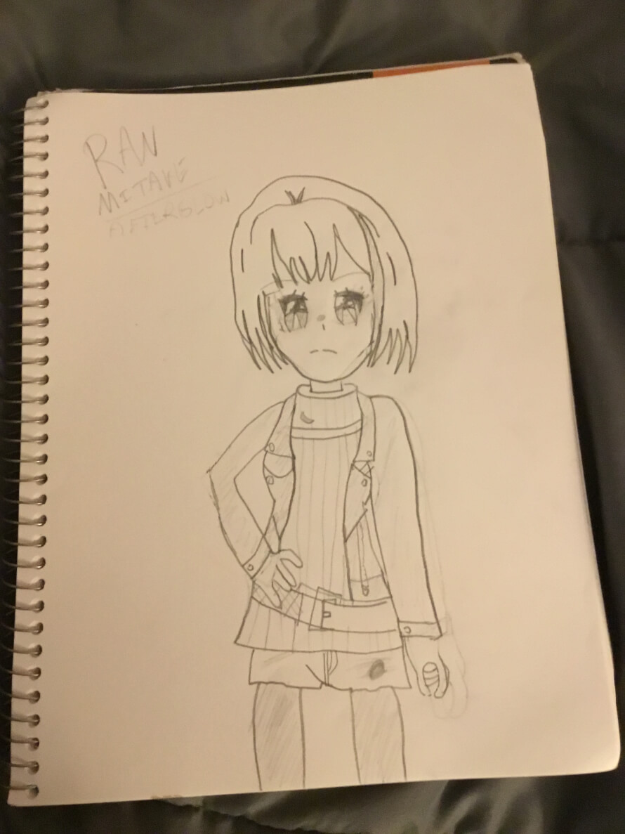 Here's a Ran drawing! Ik it's terrible, but I wanna show it anyways