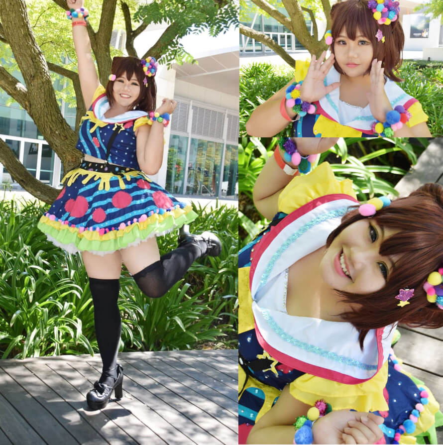 "Yaho, minna! Kasumi is my absolute waifu and this is my cosplay of her ""Colorful Poppin"". This..."