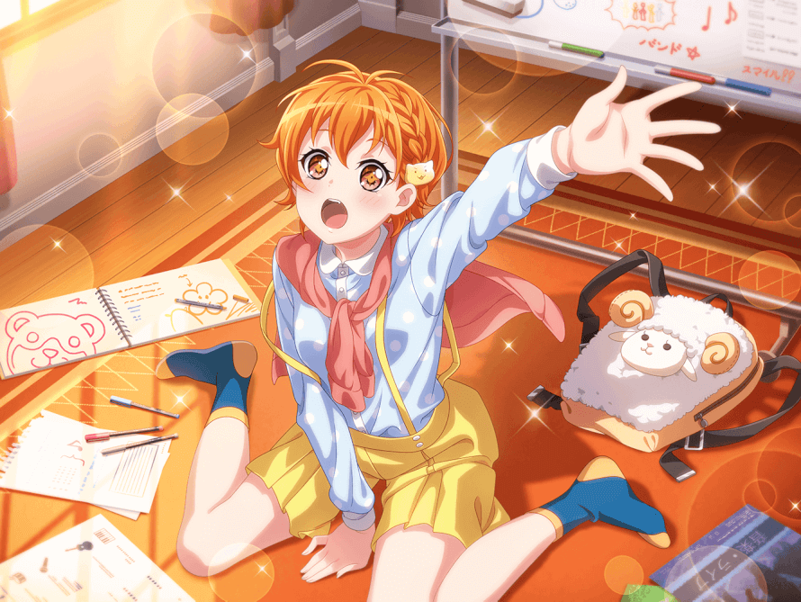 I am ... shook!? I didn't realize Hagumi could get any cuter but here we are.. and god damn is she...