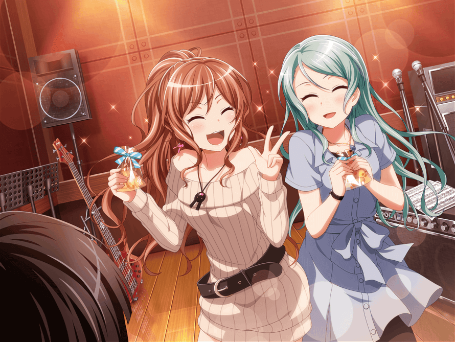 I did an little change in Sayo!! She looks even more cute, I'm really proud of this edit <3