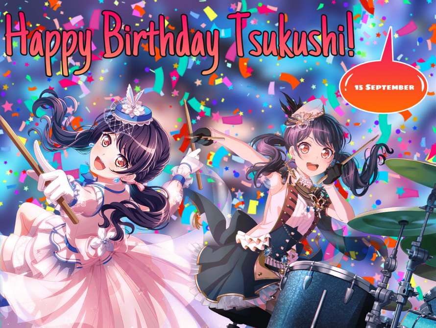 Happy Birthday Tsukushi!!!