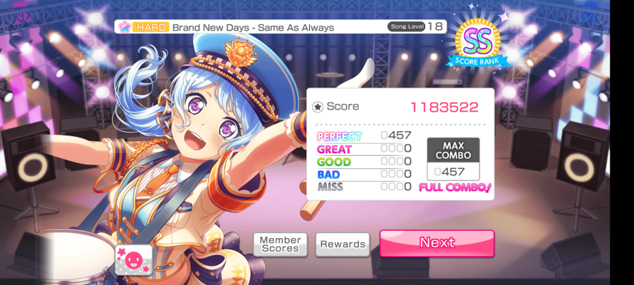 An All Perfect, same as always