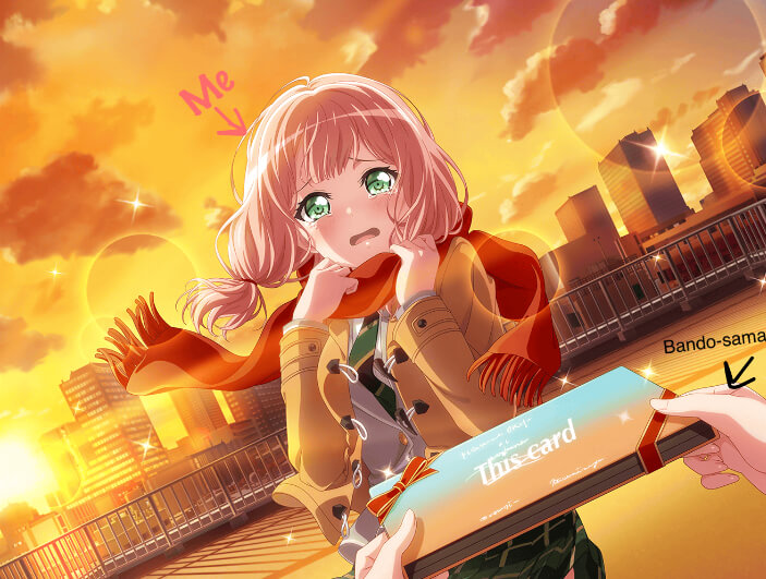 Can we make this a reality? Himari plz? Hand me the card oh great bandori gods
