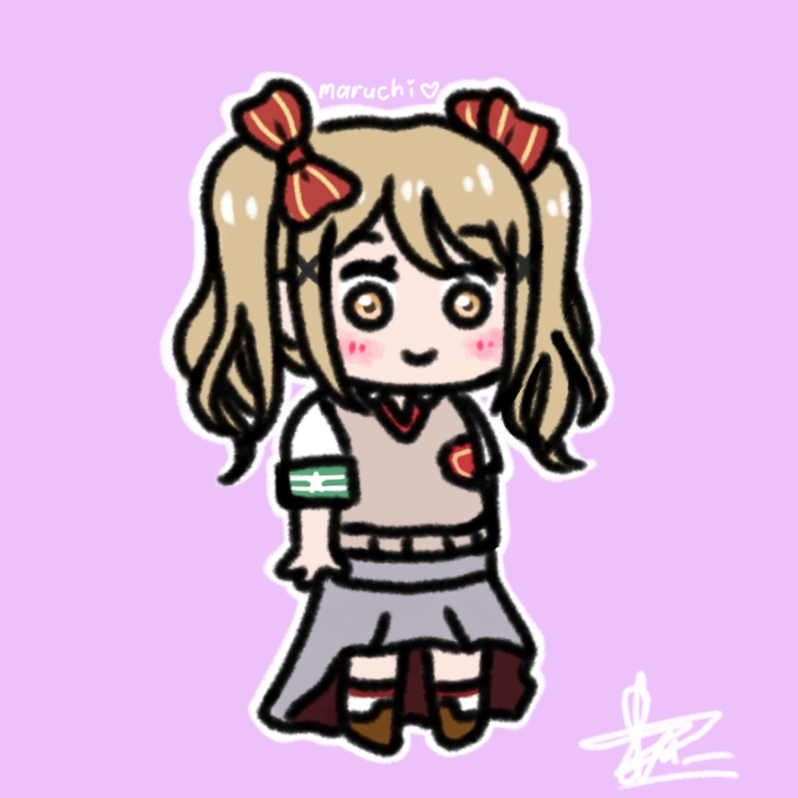 This doodle of arisa is a request from tsubame!  I hope you like it ^^  Thanks for sending in a...