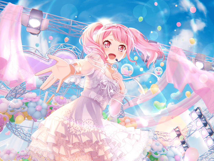 Hello!! My name's Star! I'm a casual Bandori player. 