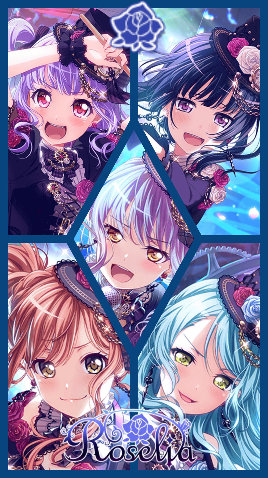 Here is for Roselia ^ ^