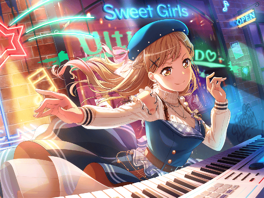 THIS IS MY NEW FAVOURITE ARISA CARD HOLY AAAAAAA SHES KILLING IT <3