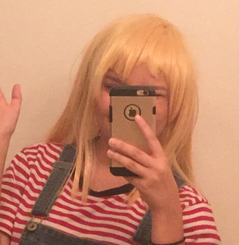 h im kinda scared to share this but after several months I finally got the courage to cut my Kokoro...