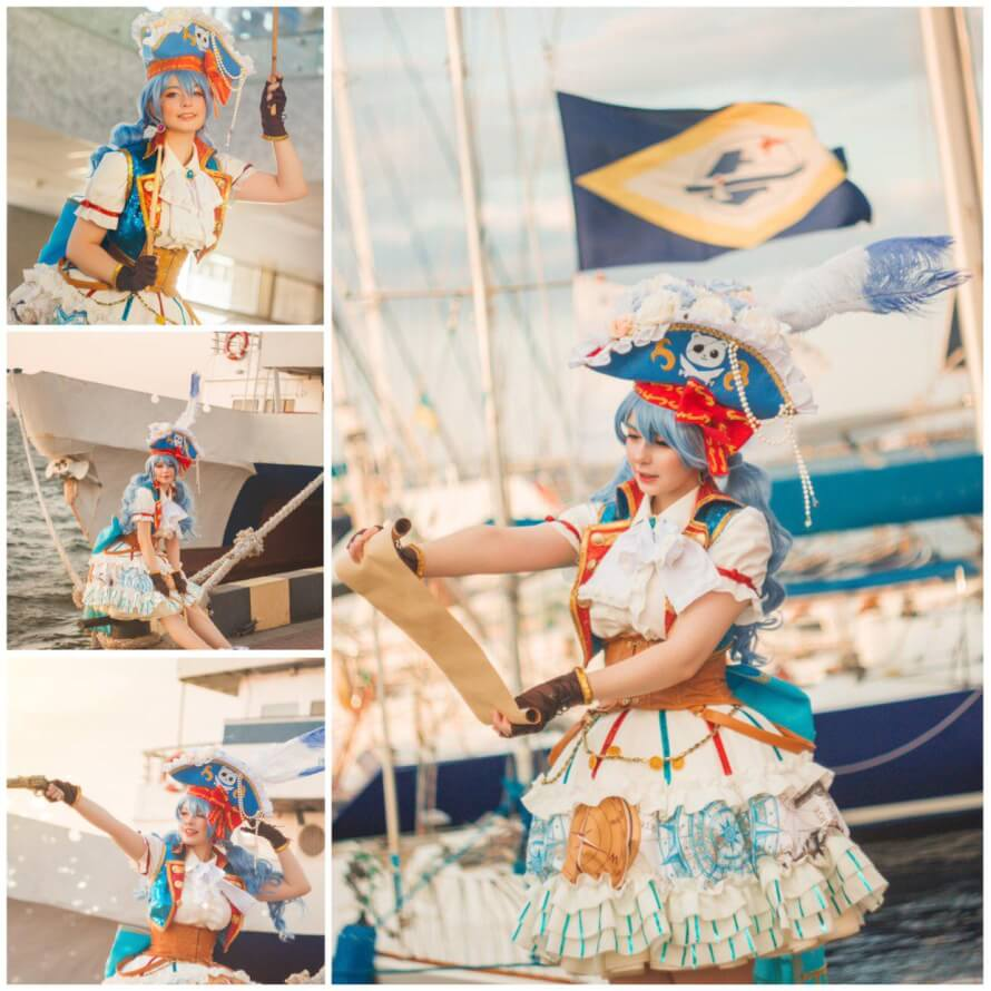 Hello everyone! 💕 My name is Freya, nice to meet you! :3 I want to share my pirate Kanon cosplay...