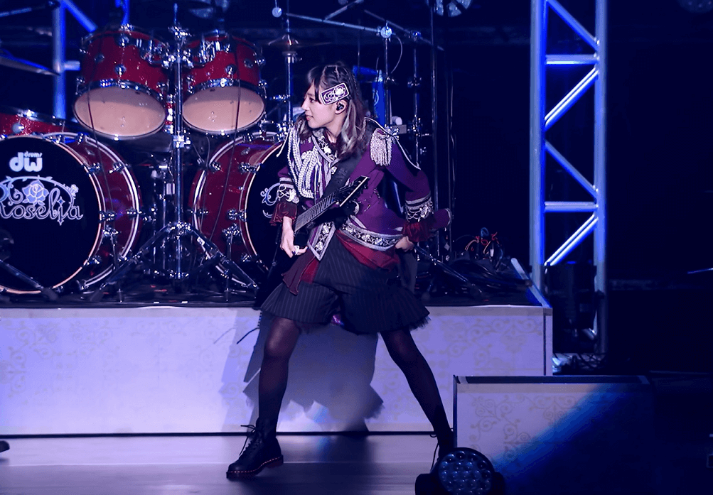 When you're the only person in  your band wearing shorts instead of skirts