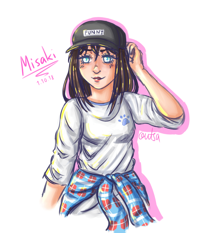 Happy belated birthday to Misaki, my 2nd best girl! I love her so much <3 also posted to my...