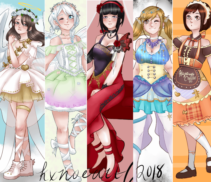 Check out the bandori products on my shop! www.storenvy.com/stores/1174725 kxnoeart