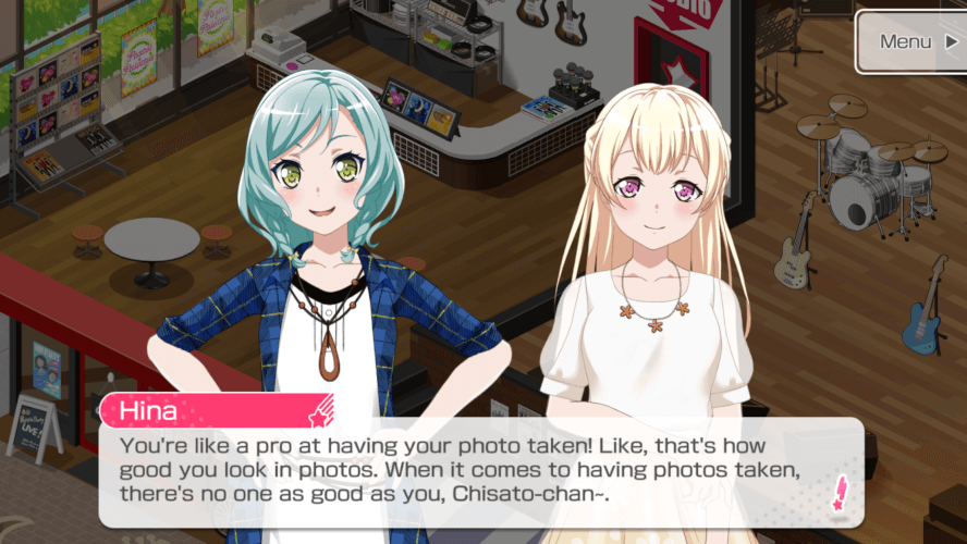yo i love chisato but shes looking hella crispy from that roast right now. my girl got toa sted!!!...