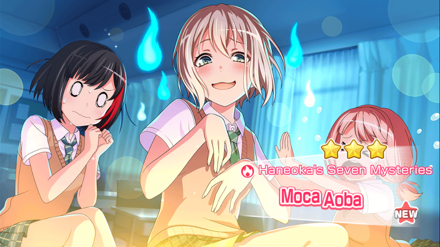 Ghost Moca! Now I have 3 stars of all the girls :