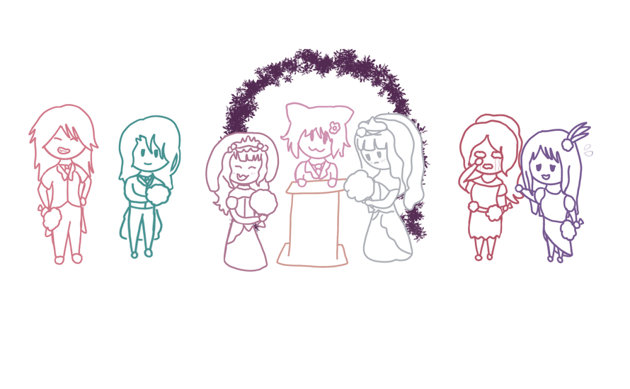 This is the event right? RinAko goth wedding yeah? Yeah that's what it is and I can't be convinced...