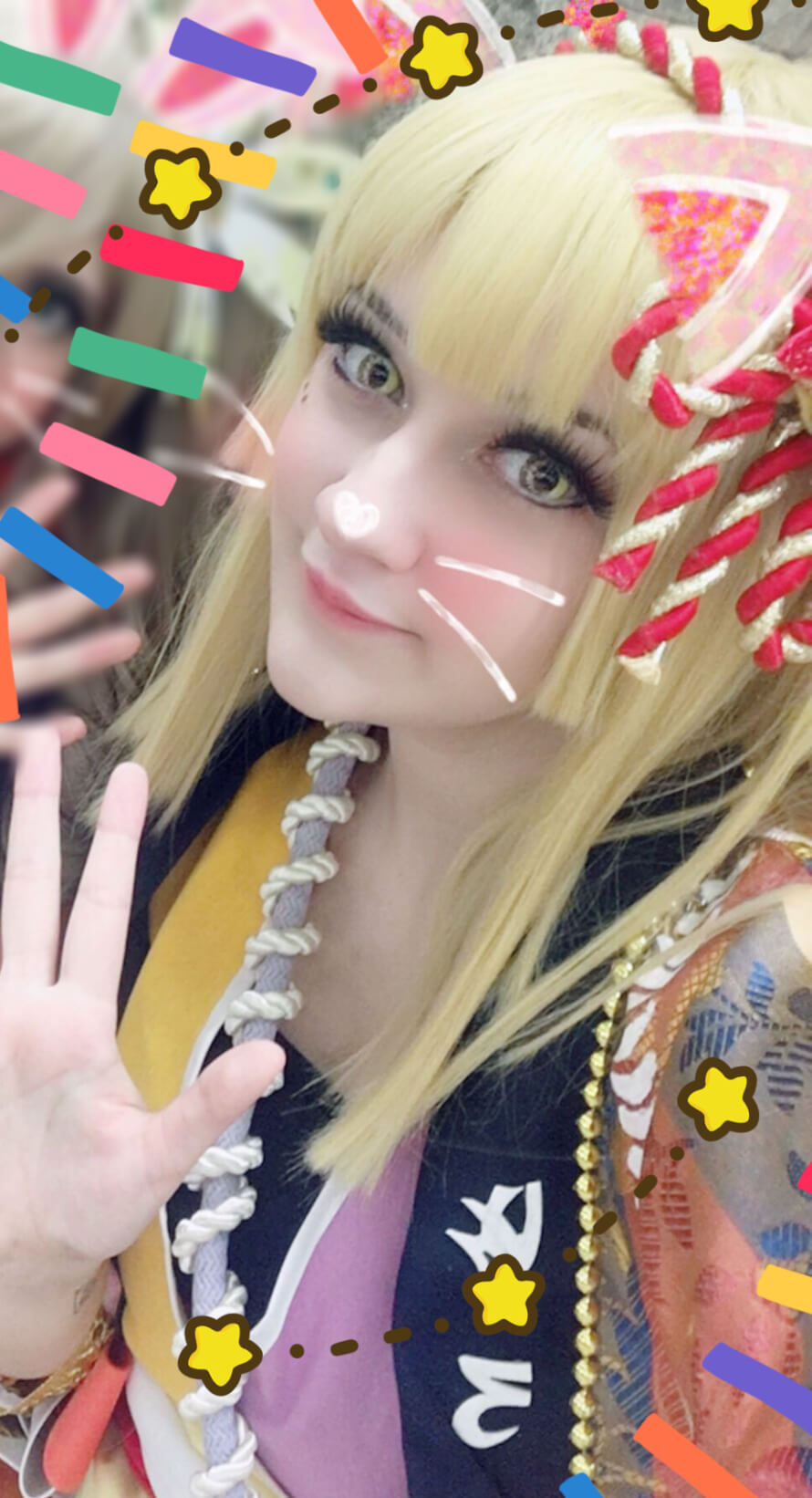 I'm not sure how it works, but I wanted to show a lil bit of my Kokoro cosplay! Hope you enjoy...