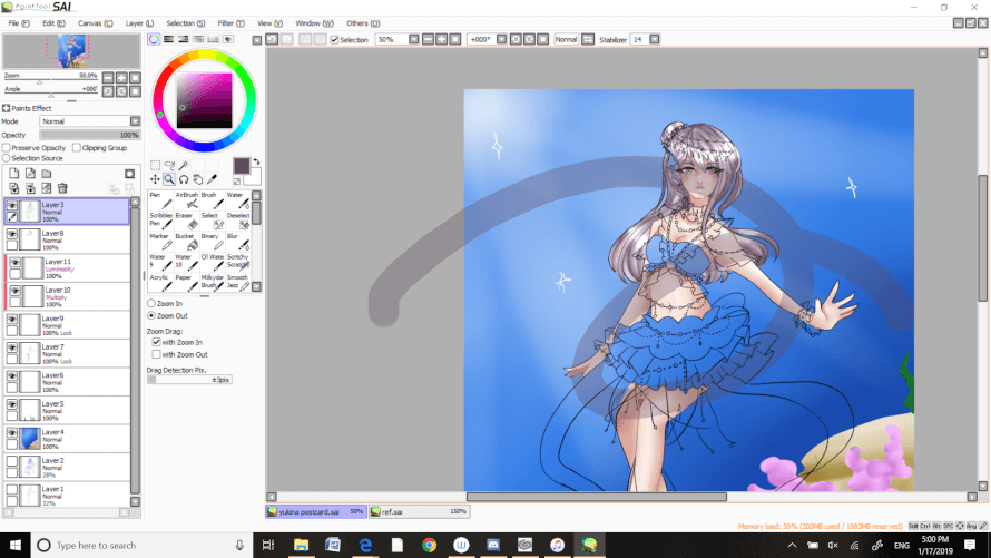 yukina is my best girl so i want her print to be really good ; ;