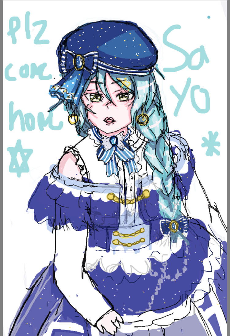 Honestly my art is getting lazier and lazier XD. Sorry sayo Maybe it has something to do with...
