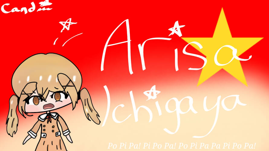 Creepy Arisa Fan art      Be your own person with your own attitude and life will reward you.