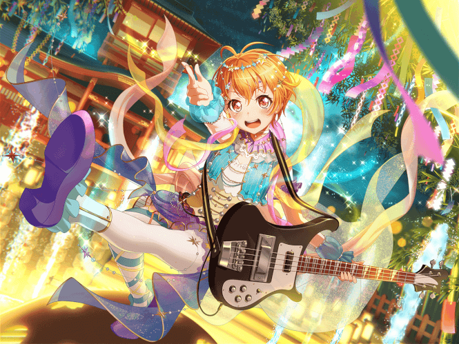 Hagumi, happy birthday! You are a star so keep that happy shine forever! Happy Lucky Smile Hooray!!
