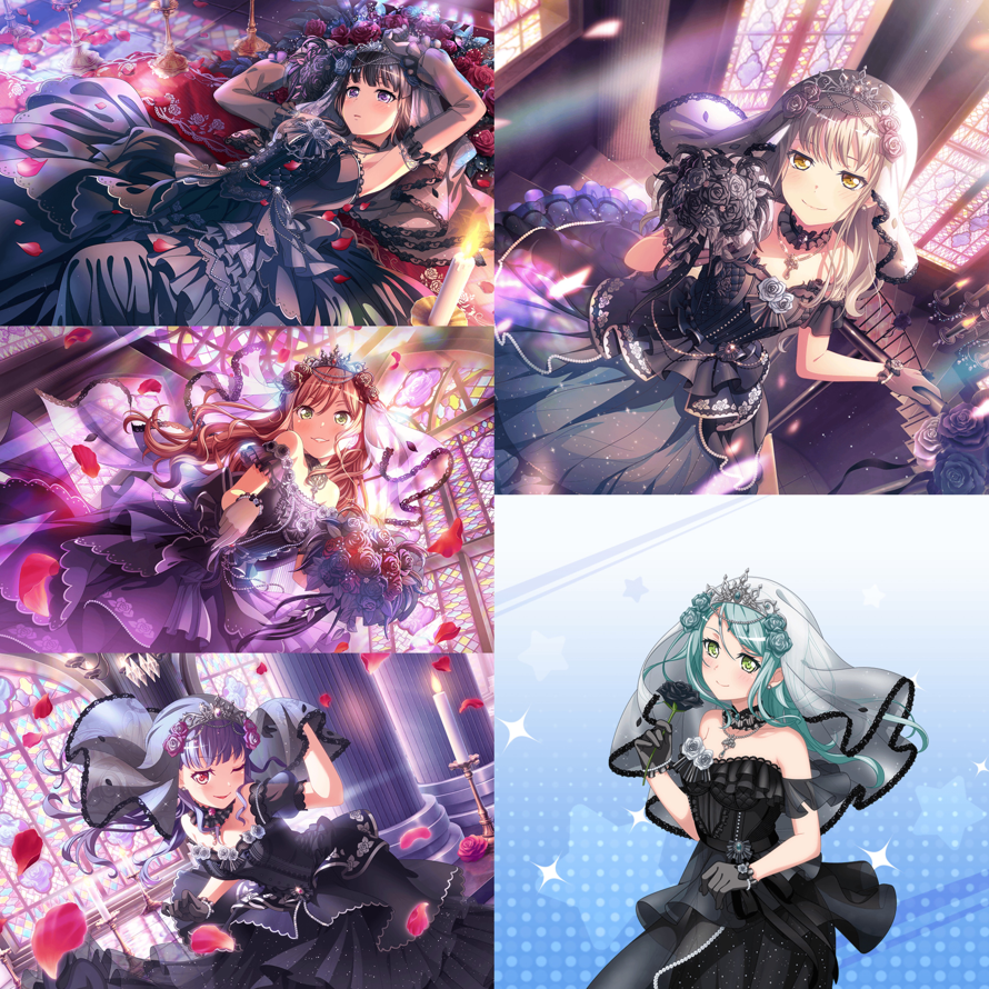 Roselia, ya'll can step on me and i'd say thank you.