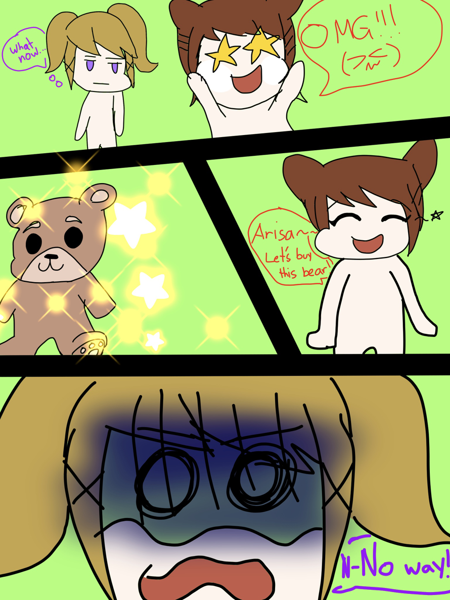 Meanwhile with arisa and kasumi