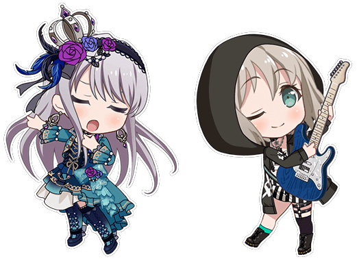 Like if you Love Moca and Yukina edit ik there the most popular on this...
