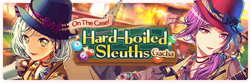 GOOD LUCK to everyone pulling on the Hard Boiled Sleuths Gacha! I hope Kaoru and Hina come home to...