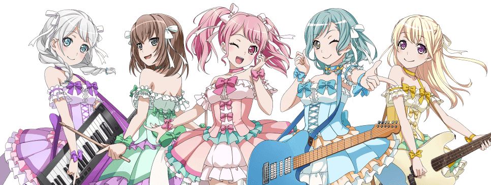 y'know in pasupare it always bothered me that nobody had pink frills at the bottom of their dress...