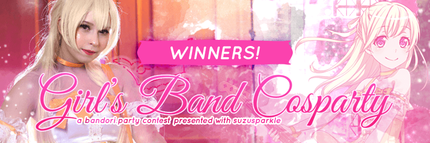 Congratulations to our winners! They will receive a prize of their choice among the BanG...