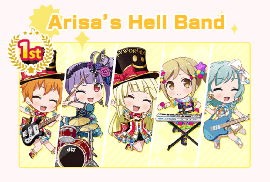 stan arisa's hell band