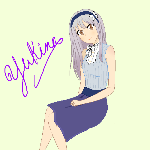 i am in dokis w yukina's summer outfit