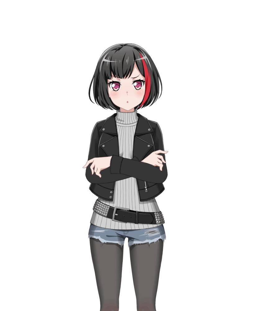 And here we see moca cosplaying as ran
