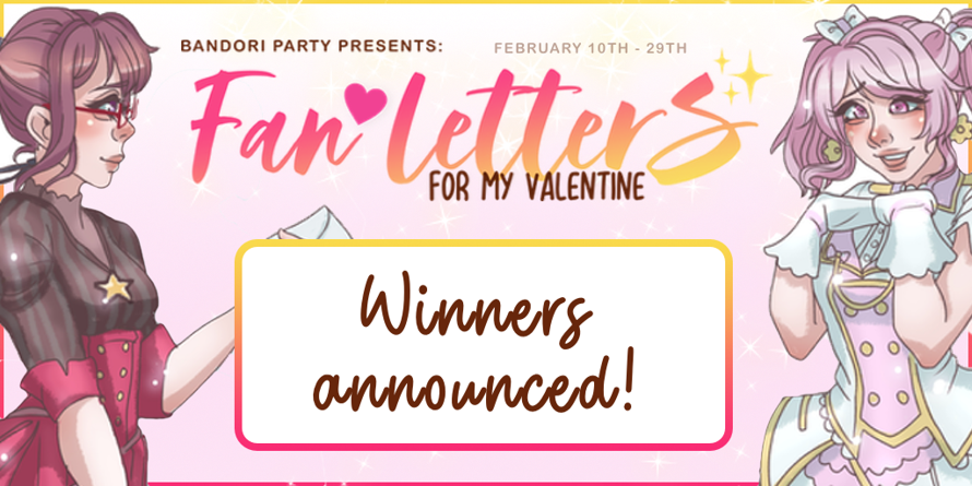 Fan Letters For My Valentine