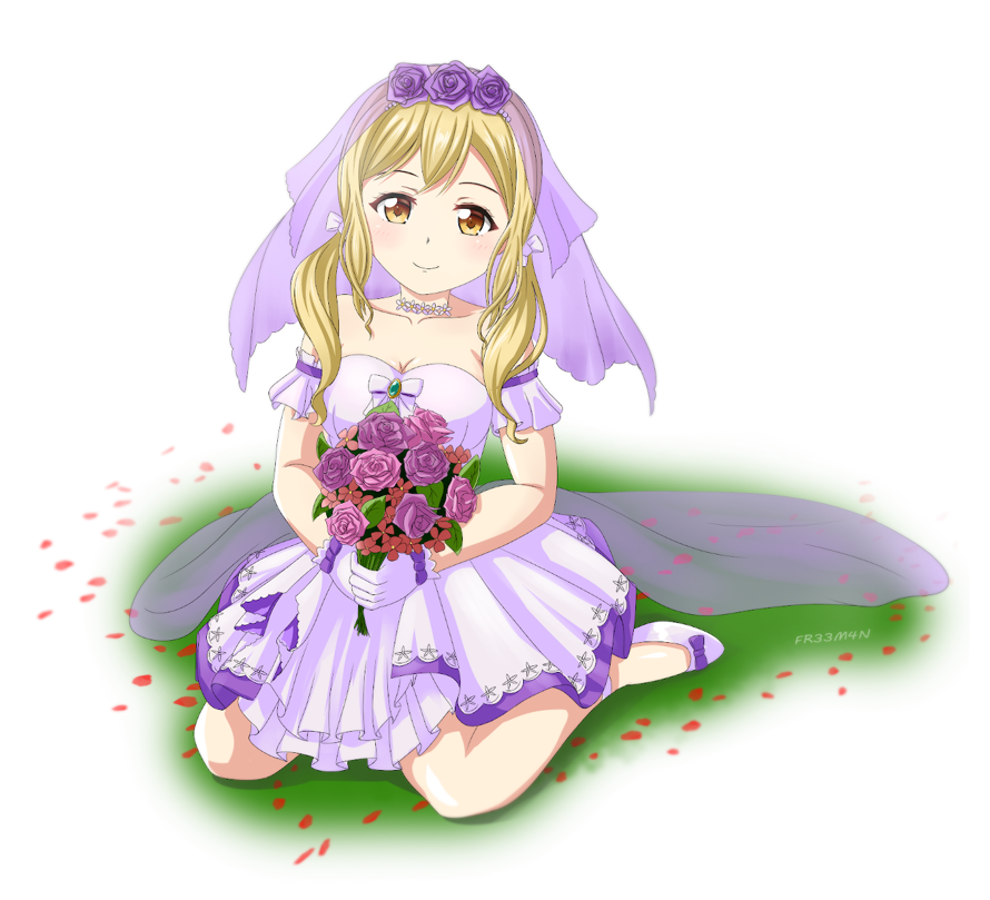 June Bride Arisa fanart.