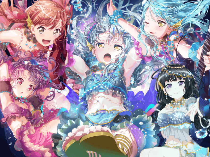 Made A Nice Wallpaper For The Mystic Coral Reef Gacha