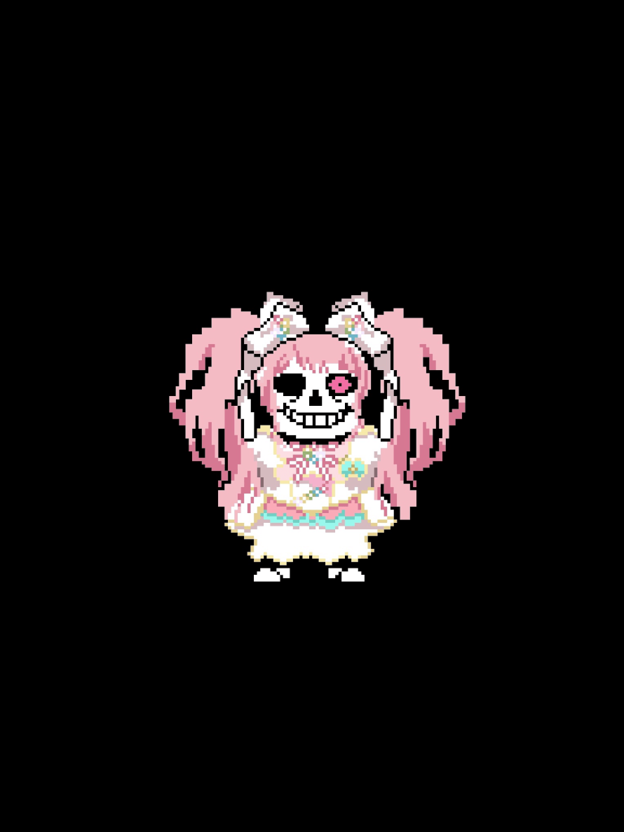 Some discord friend told me i can post this so i did behold, sayans the idol skeleton...