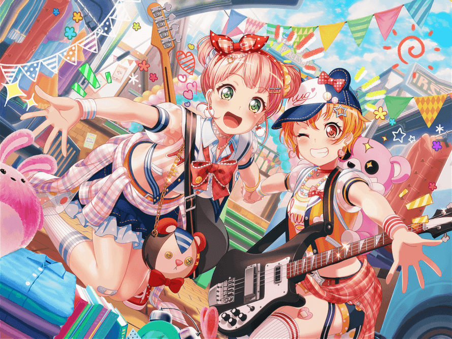 Wow just wow, who nows we need Himari in 2 buns This new Himari card is amazing! Himari's happy...