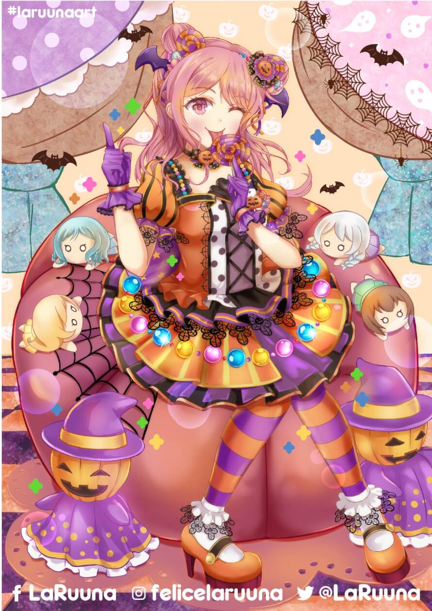 Aya Maruyama on Halloween Costume... This fanart is a commission.. feel free to email or DM me if...