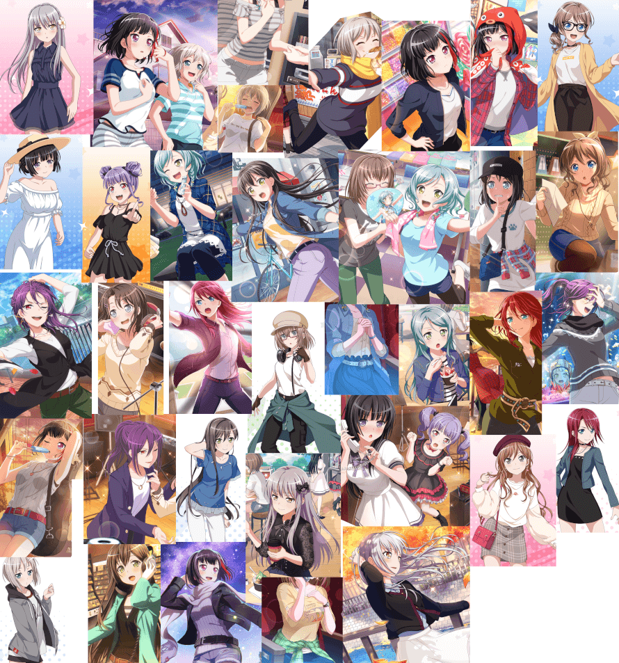 I wanted to do it, and all I have to say is... There are too many outfits that I like maybe because...