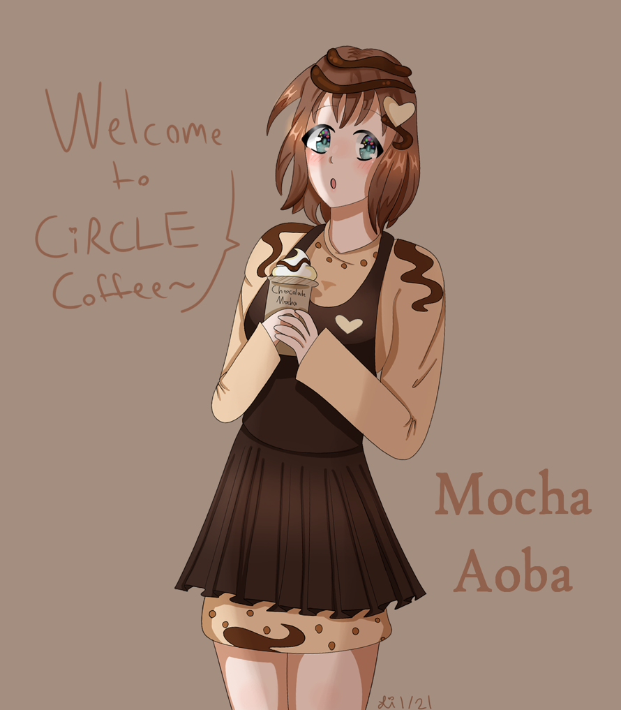 Presenting . . . MOCHA AOBA!