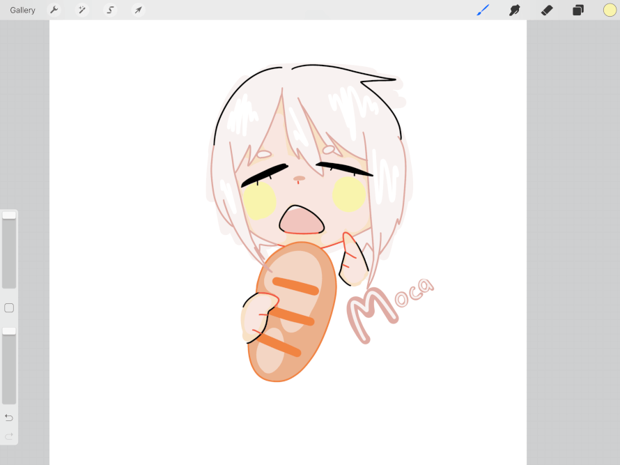 25/1! Did this Bread eating moca ˆ' ˆ